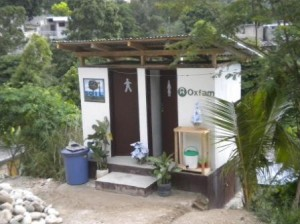 A SOIL toilet in the Kago community of Port-au-Prince