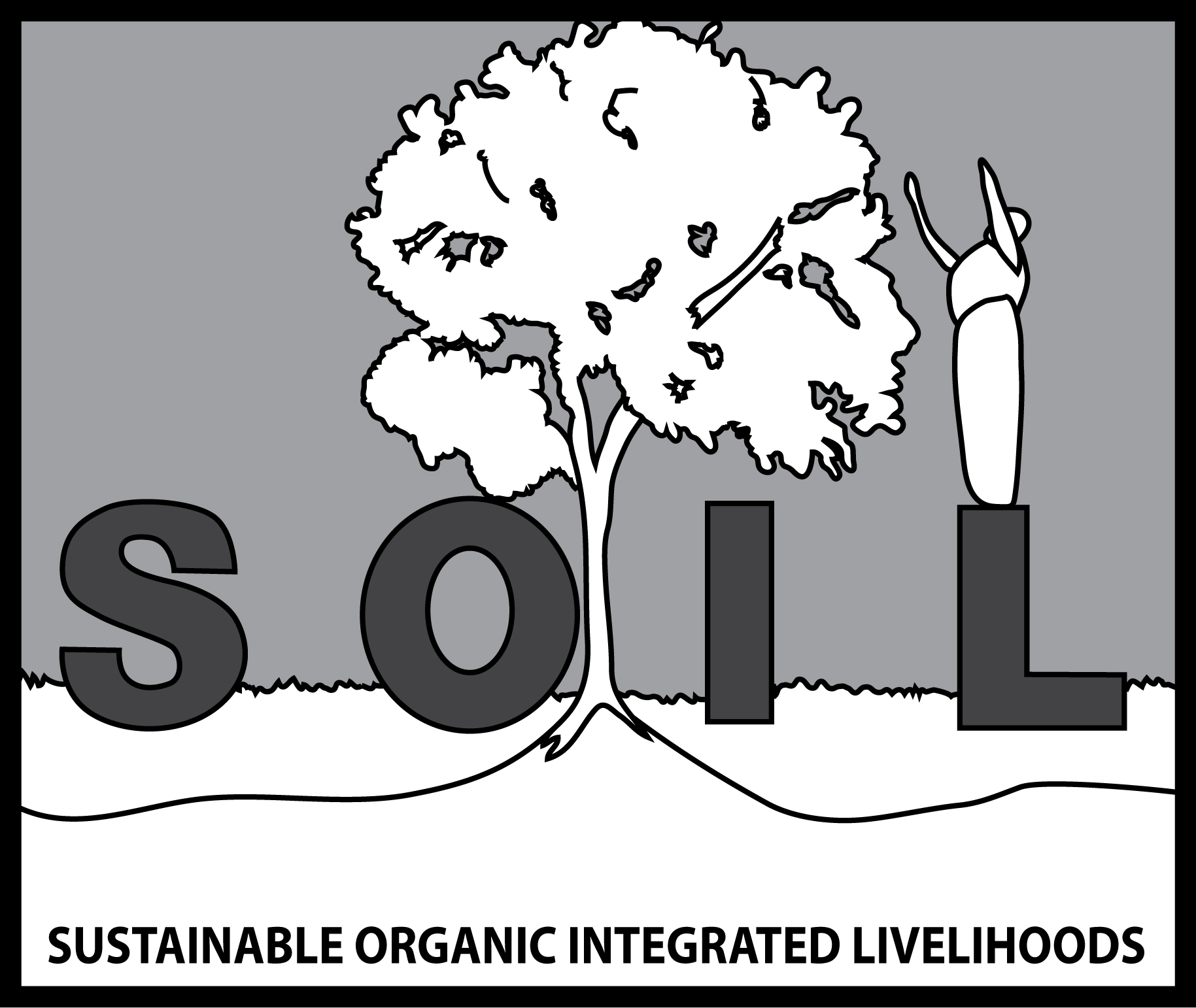 SOIL Haiti Logo B&W