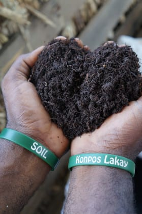 SOIL's rich, organic compost is rebuilding Haiti's soil.