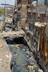One of the many challenges faced in Shada are the canals which often flood and serve as breeding grounds for disease.