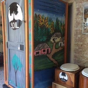 """""""These toilets are, at the same time, preventing diseases and saving lives in vulnerable, displaced communities"""" - BBC News"""