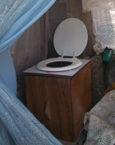 A SOIL toilet in a Cap-Haitien bedroom.  Photo credit: Monika Roy