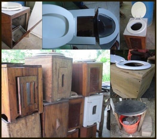 toilet design iterations