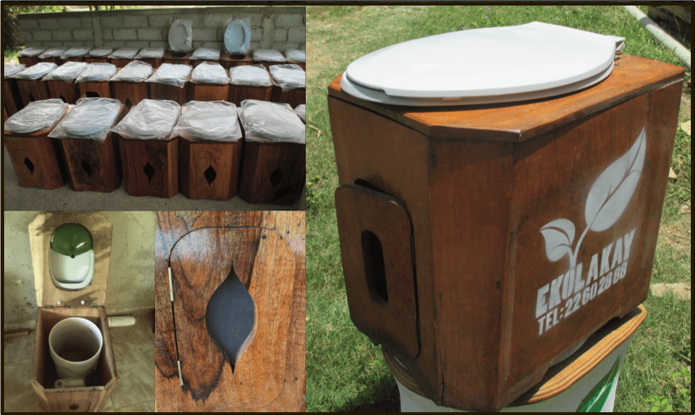 ekolakay wooden toilet