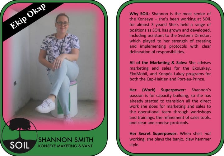 Shannon Smith Trading Card