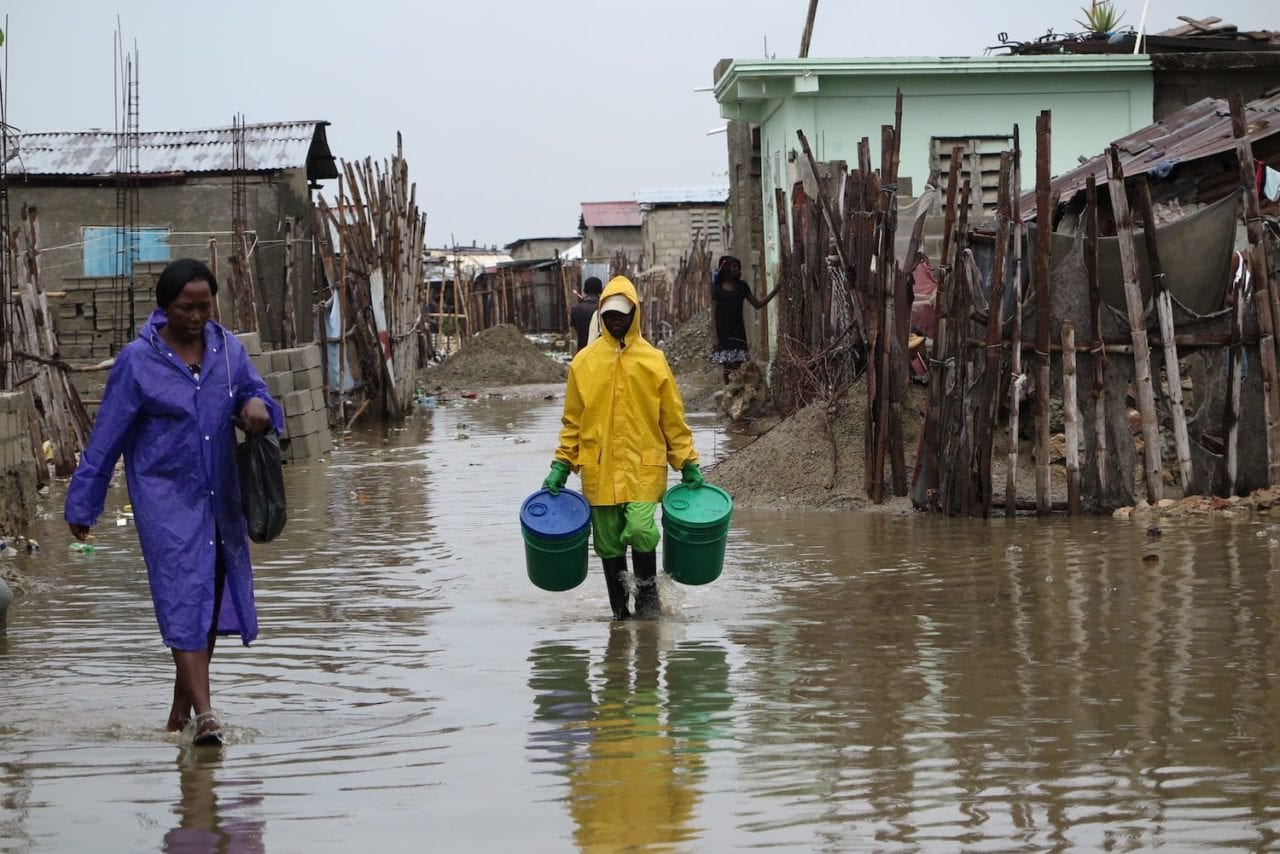Flooding in Cap Haitien
