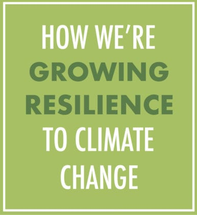 Growing Resilience to Climate Change