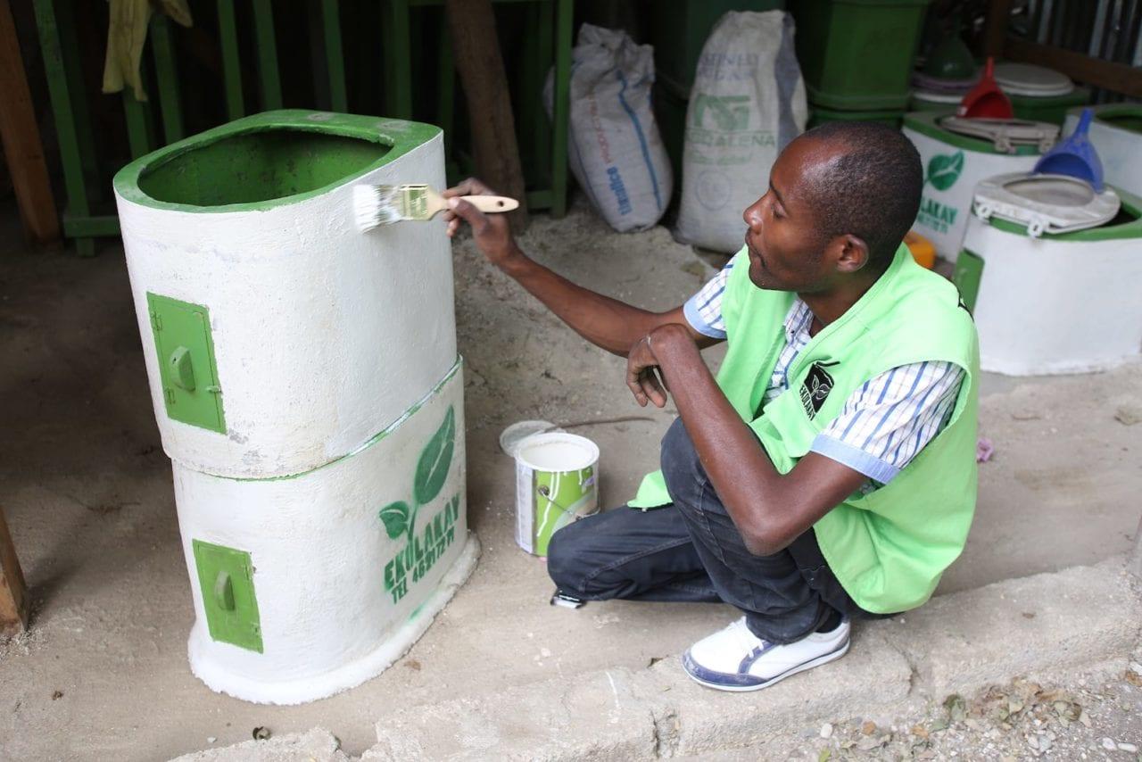 Lafalaise builds EkoLakay toilets for the growing service