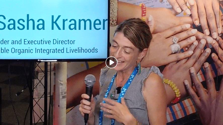 Sasha Kramer at World Water Week