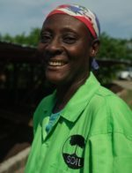 Georgette François : Compost Site Staff
